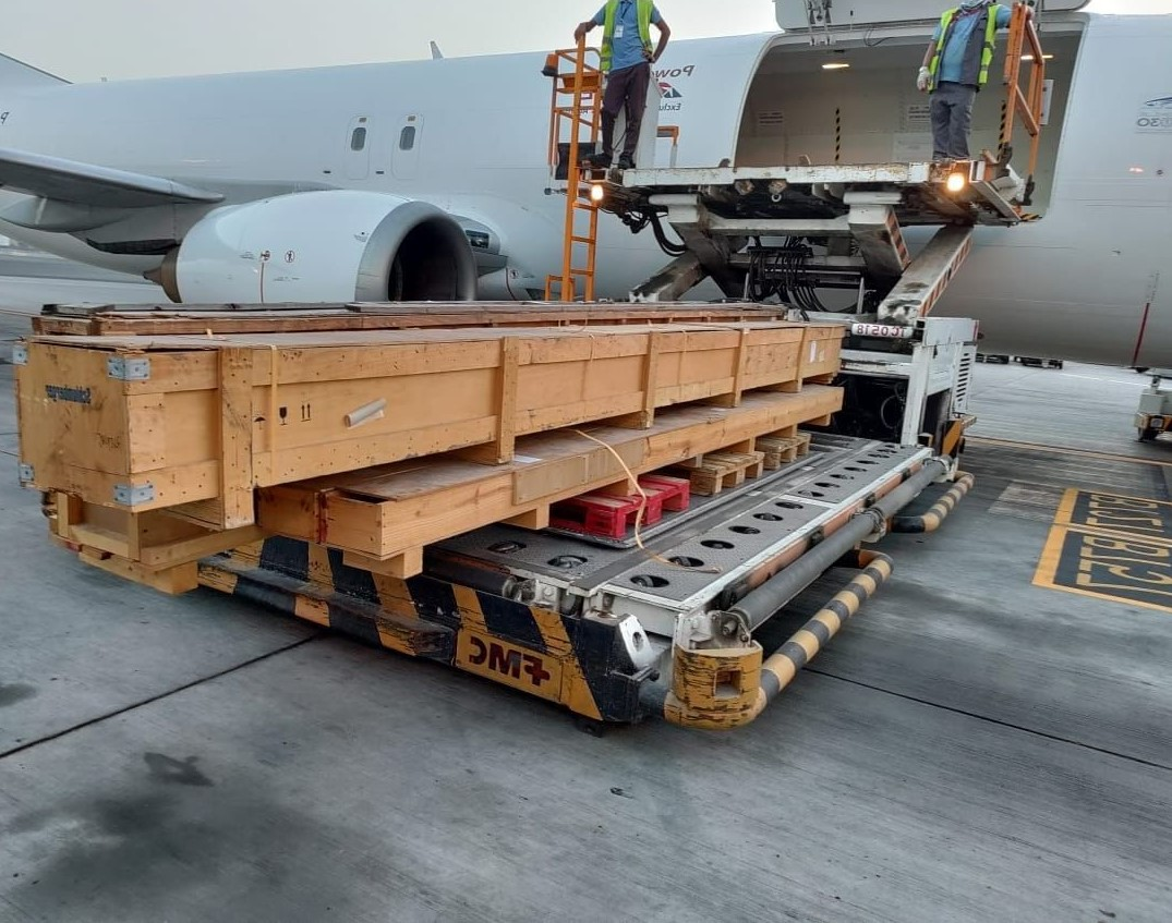 Cargo Uplifted for Mai-Jun-July  2021